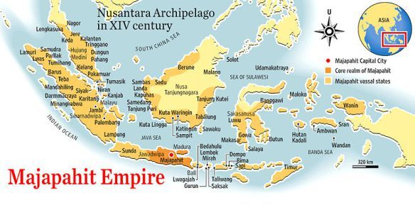 Sejarah Runtuhnya Kerajaan Majapahit Yang Di Sembunyikan Pemerintah Peta Sejarah Pendidikan