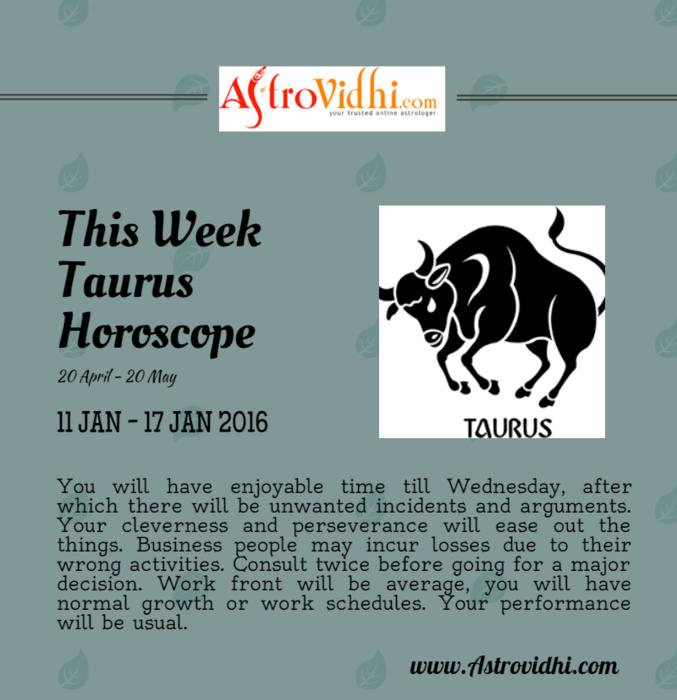 taurus january 17 horoscope