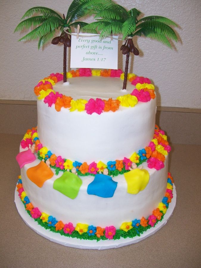 Explore Hawaiian Baby Showers, Baby Cakes, And More!