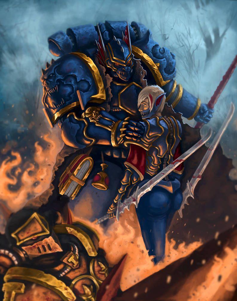 Fallen Sister by MyDeads on DeviantArt | Warhammer ...