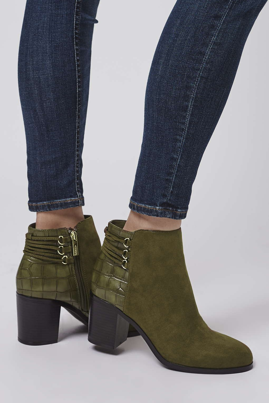 Back lace up boots - Bind Back Lace Boots New In