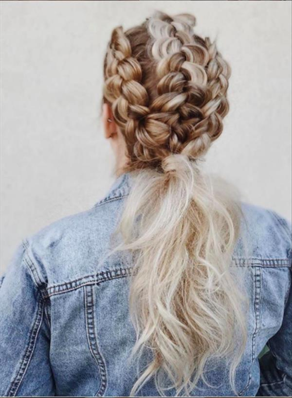 52 Charming Braids Hairstyles For Knotless And Jumbo Box