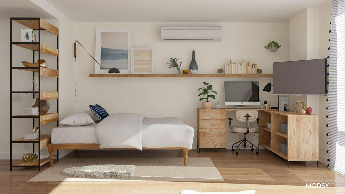 The Absolute Best Ways to Design Your Itsy-Bitsy Studio Apartment images