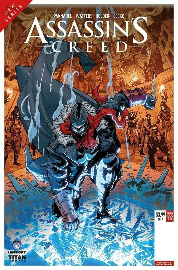 Assassin's Creed cover C