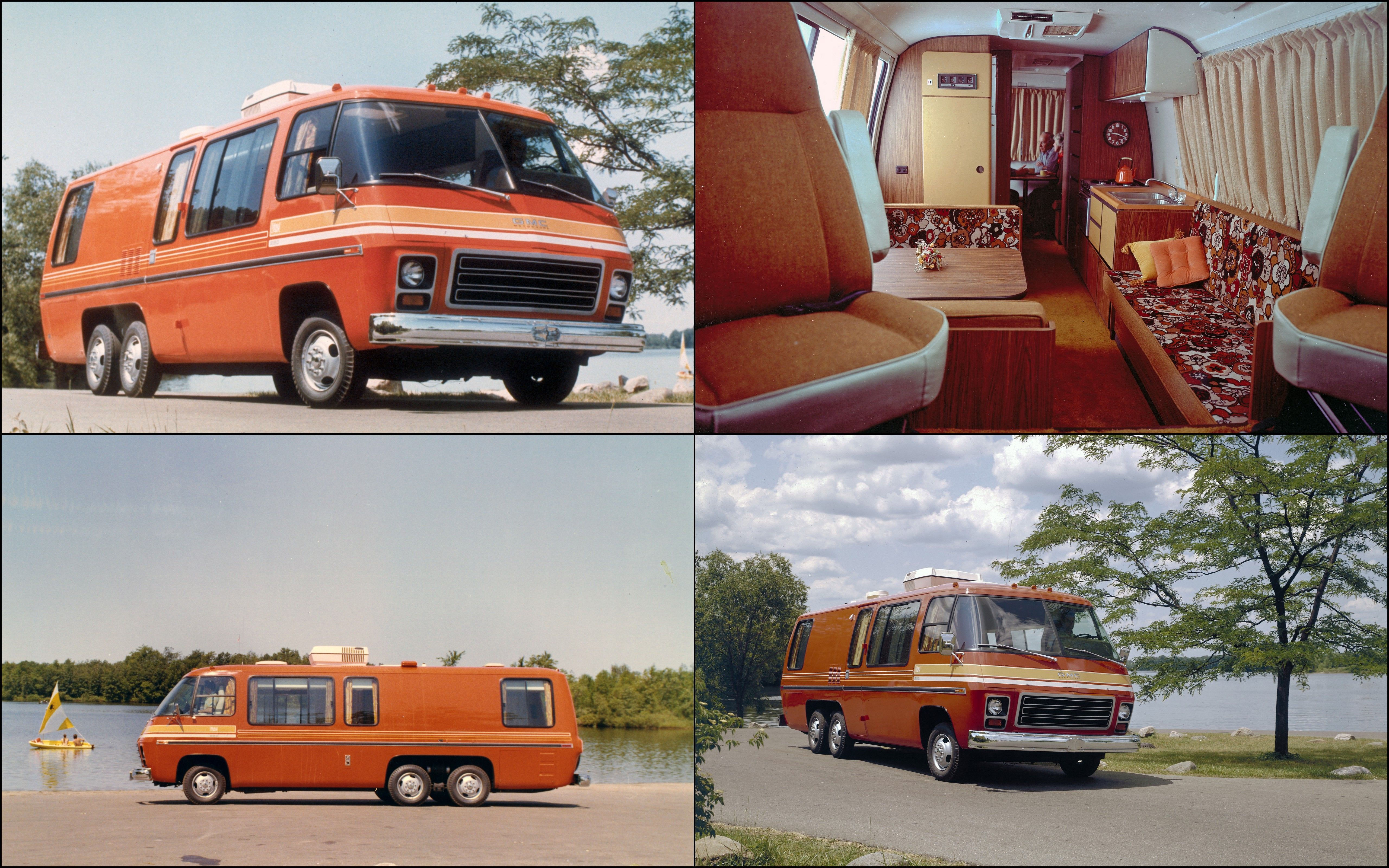 In Late 72 The General Motors Truck And Coach Division Debuted Their Iconic 6 Wheel Gmc Motorhome Gmc Motorhome Vintage Motorhome Motorhome