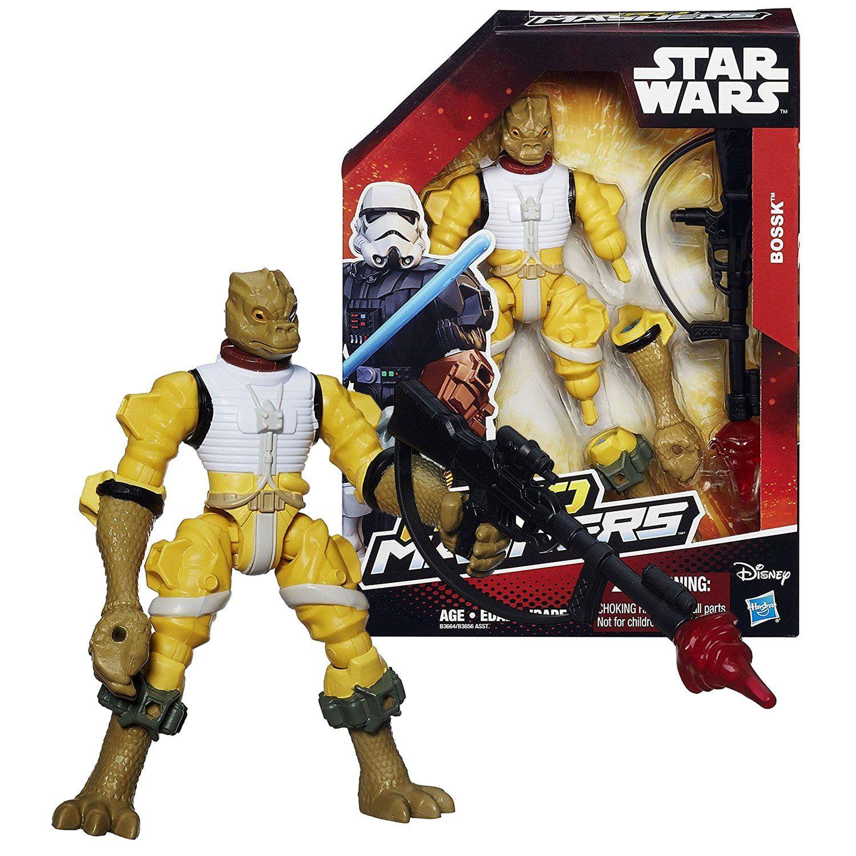 Star Wars Hero Mashers Bossk 6 Inch Action Figure New