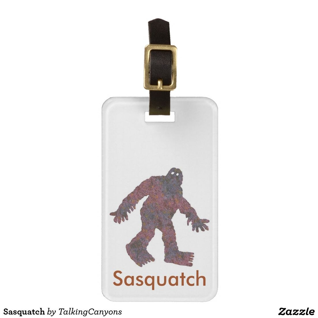 Sasquatch Tags For Luggage