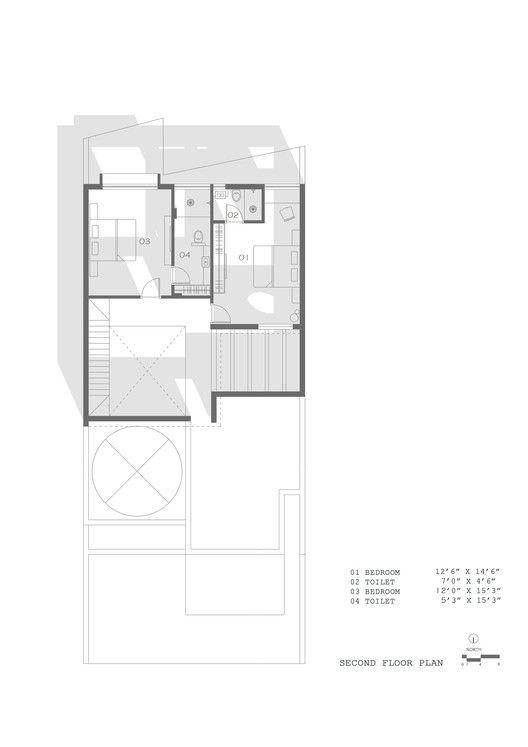 Gallery Of Jungalow House Neogenesis Studi0261 21 Courtyard House Plans Floor Plans House Floor Plans