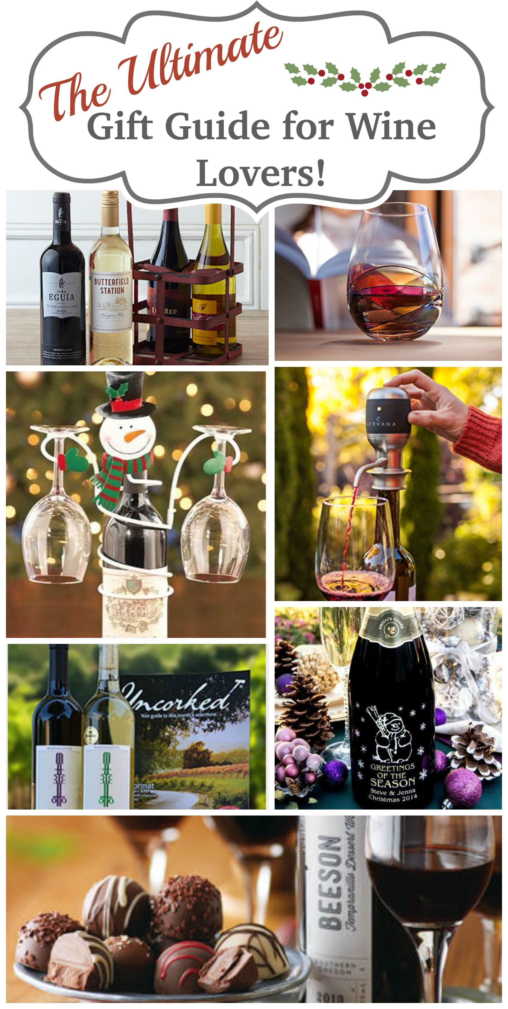 The Ultimate Gift Guide for Wine Lovers | Pinterest | Wine lover ...
