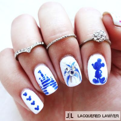 Pin By Rylee Carroll On Disney Nail Art Pinterest Disney Nails
