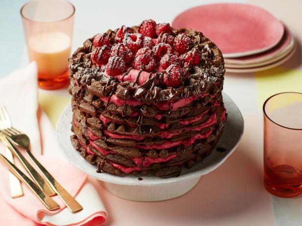 Chocolate raspberry waffle cake recipe impressive desserts chocolate raspberry waffle cake forumfinder Choice Image