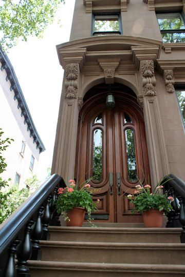 Beautiful Stoops From Brownstone Brooklyn Doors Lush