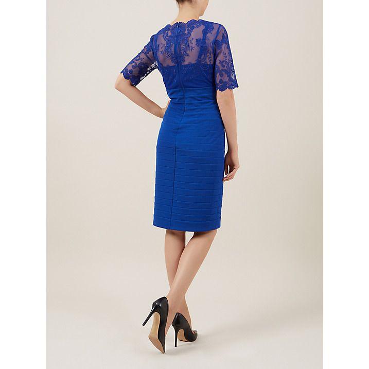 e4cadbfe40a Kaliko Lace and Jersey Dress, Cobalt Blue | Bridal Dresses | Dresses ...