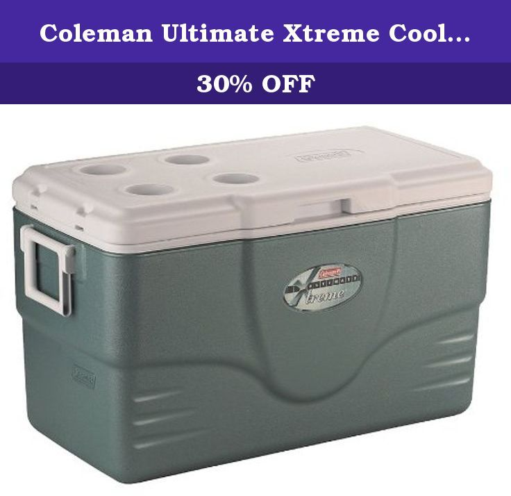 Coleman Ultimate Xtreme Cooler 58 Quart Gray Coleman Is Dedicated