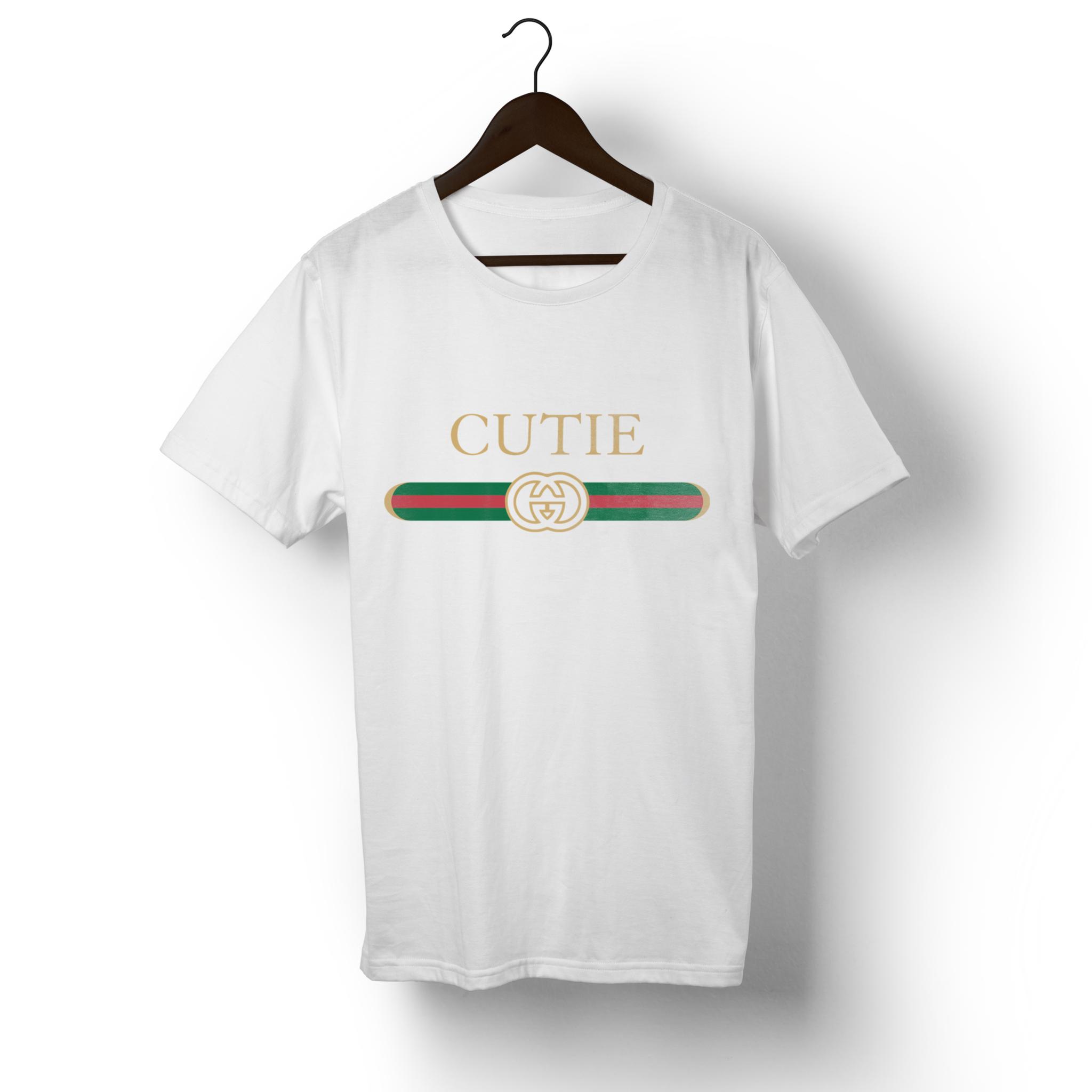 949c2e86 Cutie-Gucci Parody T-Shirt – SavageFlamingo   FW '17 LOOK   T shirt ...