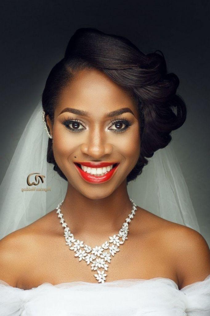 Hochzeit Frisuren Für Schwarze Frauen (mit Bildern