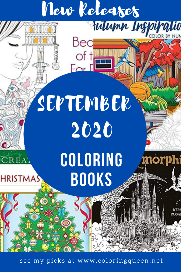 Coloring Books New Releases September 2020 Coloring Queen Coloring Books Books New Releases Books
