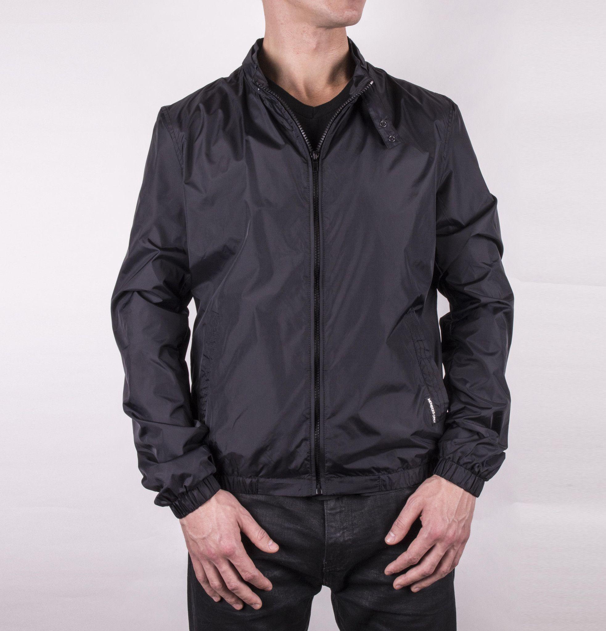 Packable Windbreaker   Packable jacket and Black