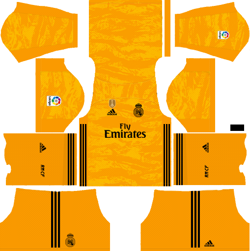 Real Madrid C F 2019 2020 Kit Dream League Soccer In 2020 Real Madrid Kit Real Madrid Madrid Football Club