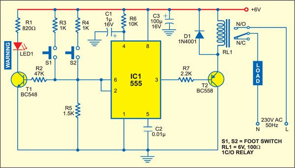 Accurate Foot-Switch | Electronics | Pinterest | Electronic ...