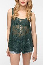 Staring at Stars Swing Crochet Tank