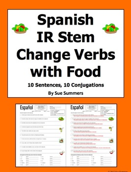 Spanish Stem Change Verbs Pedir and Servir Translations and ...