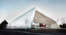 Austria's first energy self-sufficient supermarket - Graz, Austria by 'LOVE Architecture'