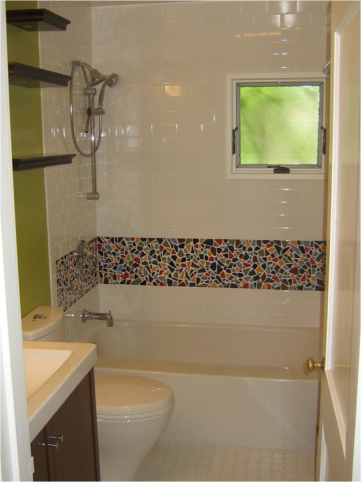 Bathroom Tile Designs With Mosaics Extraordinary Grey Bathroom From Bathroom Mosaic Designs Tips