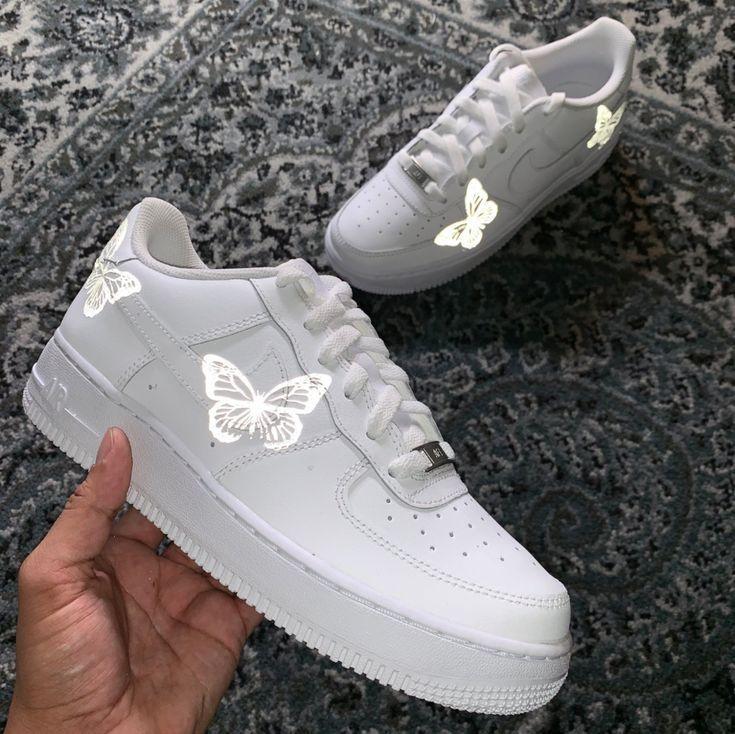 Clear Chunky High Heel Boots in 2020 | Custom nike shoes
