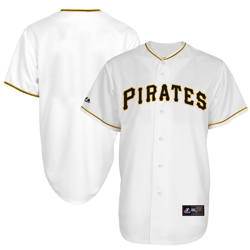 quality design c8977 6b2ff Pittsburgh Pirates Youth Replica Baseball Jersey - White ...