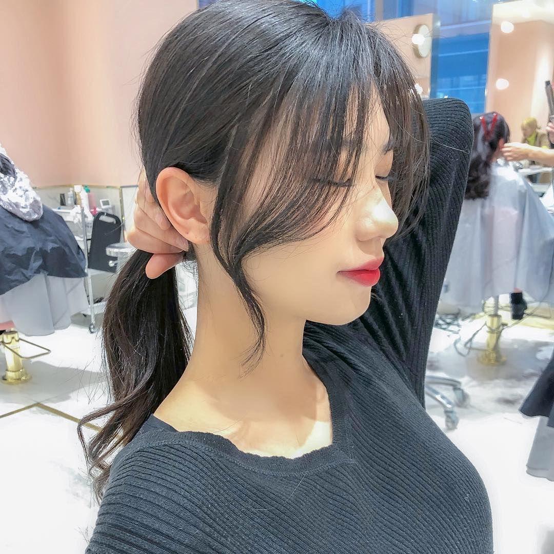 ㅤㅤㅤㅤㅤㅤㅤㅤㅤㅤㅤㅤㅤ 얼굴소멸컷 韓国式おくれ毛カット