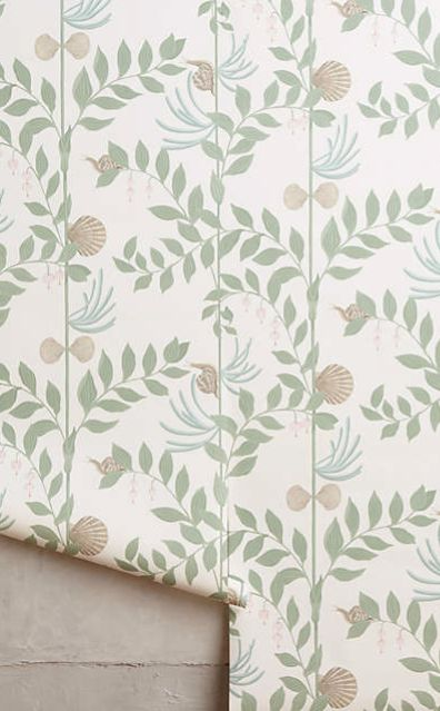 Sea Garden Wallpaper #anthrofave