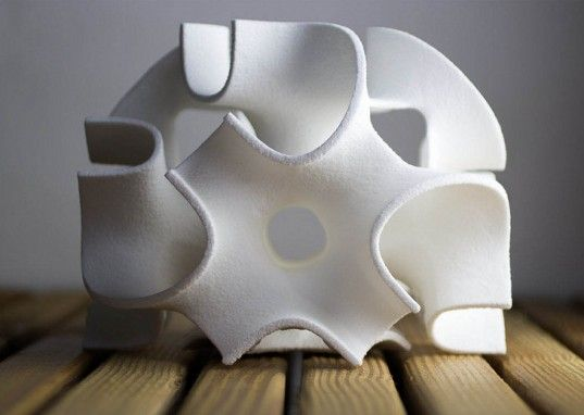 The Sugar Lab Uses a 3D Printer to Create Sweet Edible Geometric Sculptures | Inhabitat - Sustainable Design Innovation, Eco Architecture, Green Building
