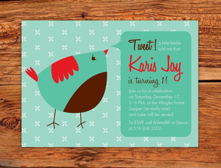 birthday invitation card in hindi%0A Birdie invitation