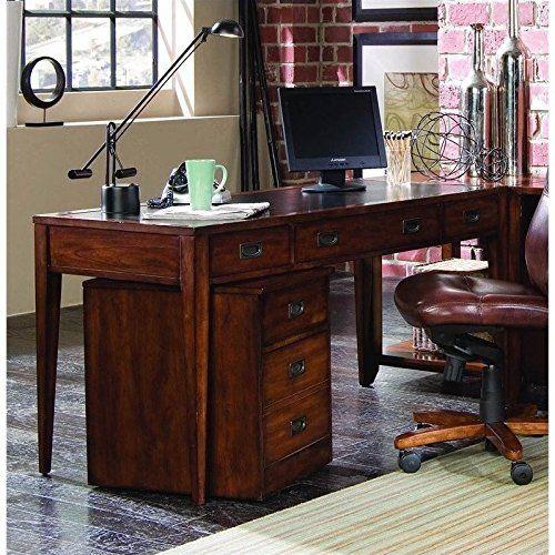 Amazing Hooker Furniture Danforth Executive Leg Desk In Rich Medium Brown