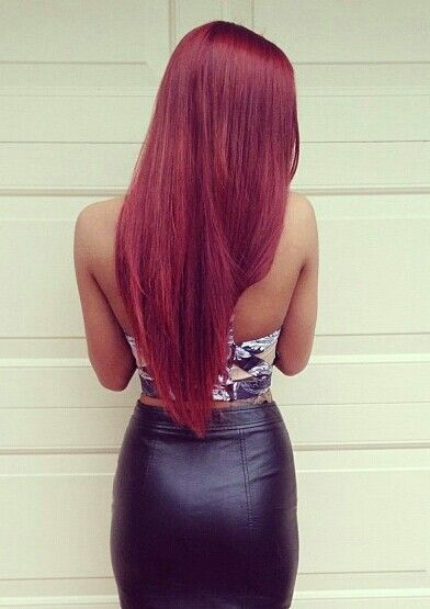 Red hair ♥