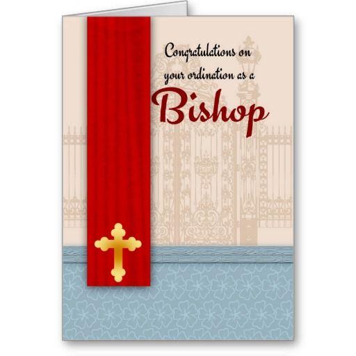 Congratulations bishop ordination in parchment card parchment cards congratulations bishop ordination in parchment card m4hsunfo Image collections
