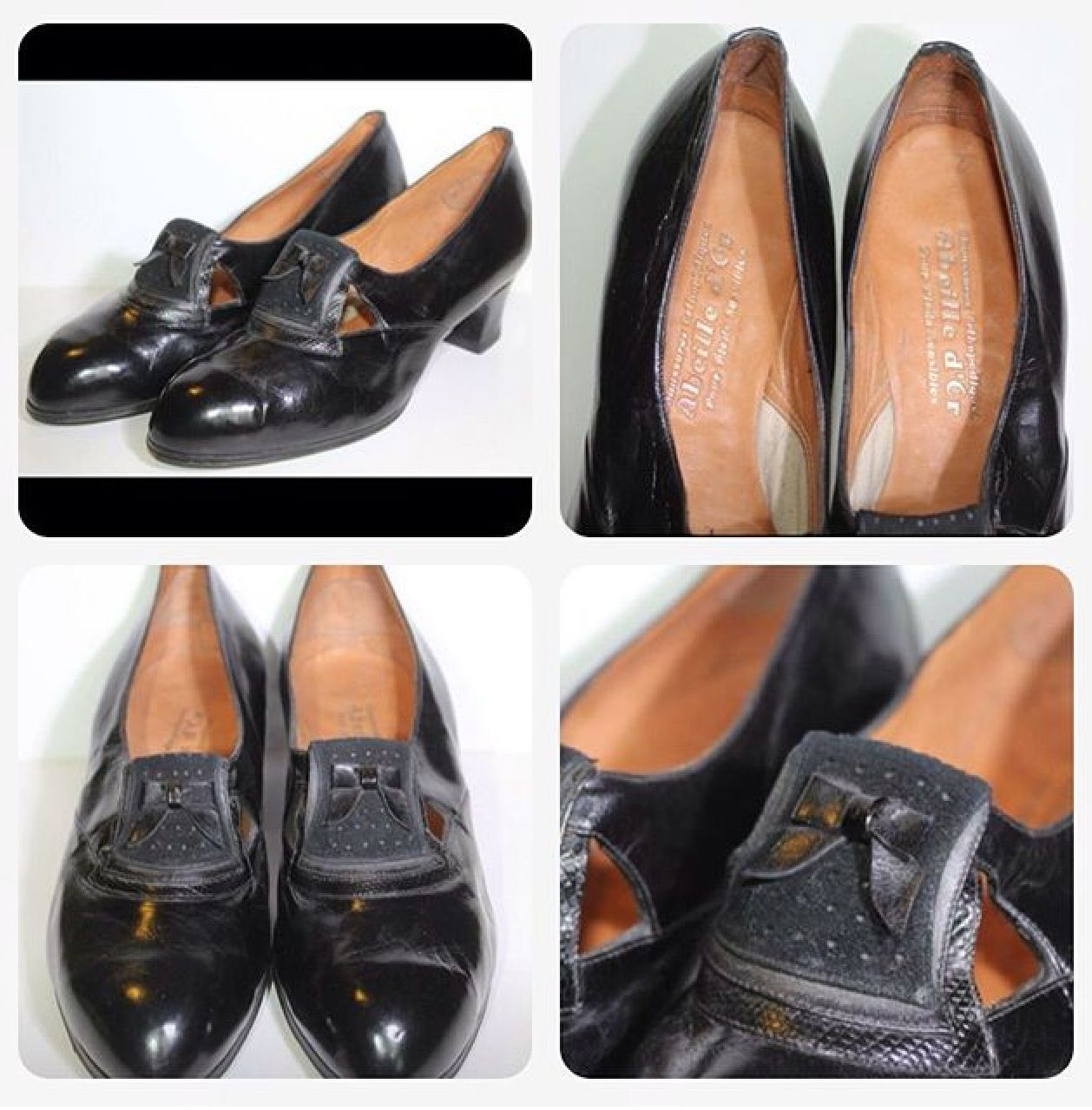 1930's French shoes