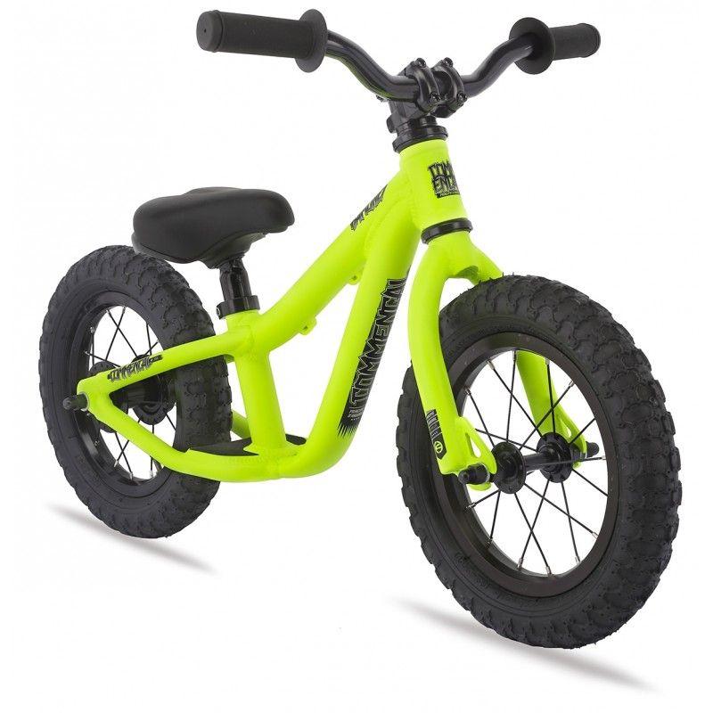 Commencal Ramones 12 Neon Yellow Kids Rider Bike Bicicletas