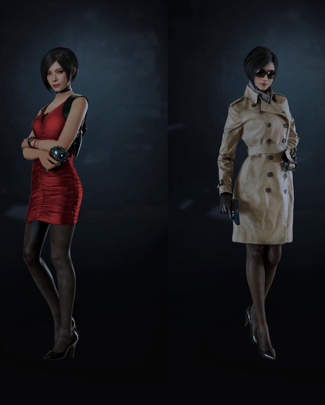 New Official Images Of Residentevil2 Characters صور جديده