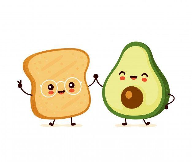 Yoga Avocado Avocado Art Avocado Cartoon Cute Drawings