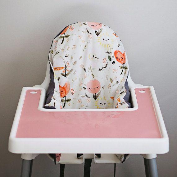 Tremendous Happy Flowers Ikea Antilop Highchair Cover High Chair Alphanode Cool Chair Designs And Ideas Alphanodeonline