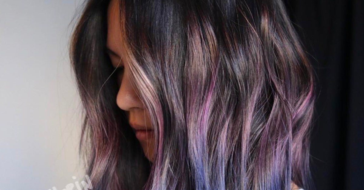 Geode Hair Is The Dreamy New Rainbow Shade Youre About To See