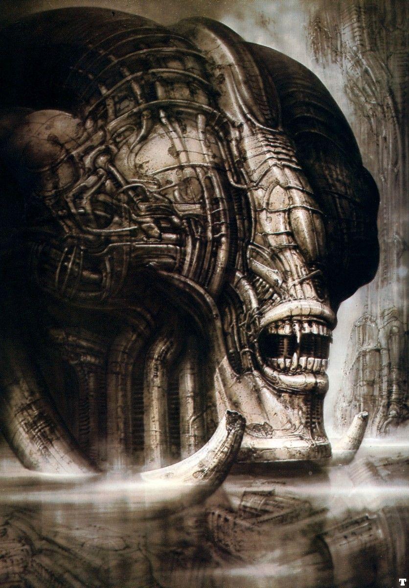 best hrgiger images on pinterest in alien art hr giger