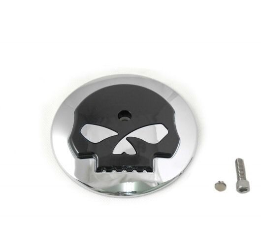 Harley Willie G Skull Chrome Air Cleaner Cover FLHX Street