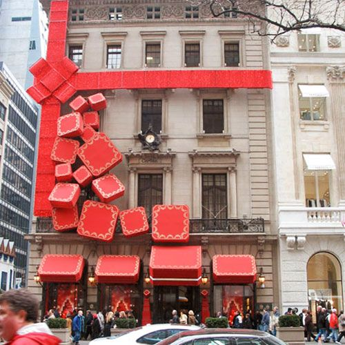Valentine Window Visual Merchandising Display