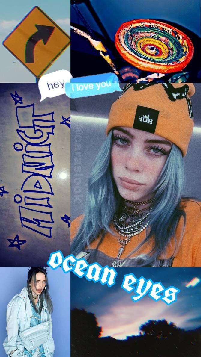 Blue Lil Peep Aesthetic Wallpaper