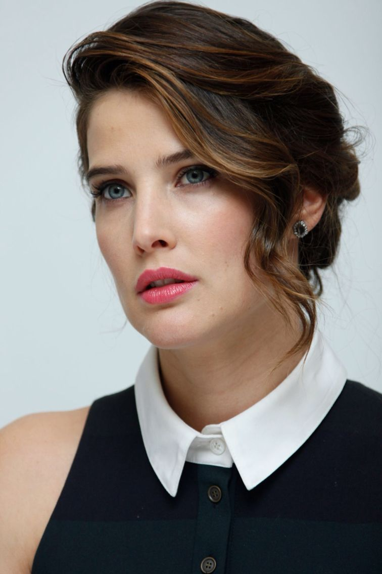 Cobie Smulders Avengers Age Of Ultron Press Conference 11th April 2015 Cobie Smulders Beauty Most Beautiful Hollywood Actress