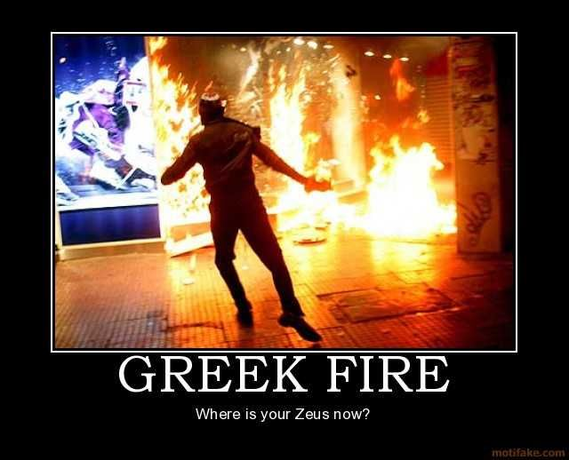 Greek fire quotes