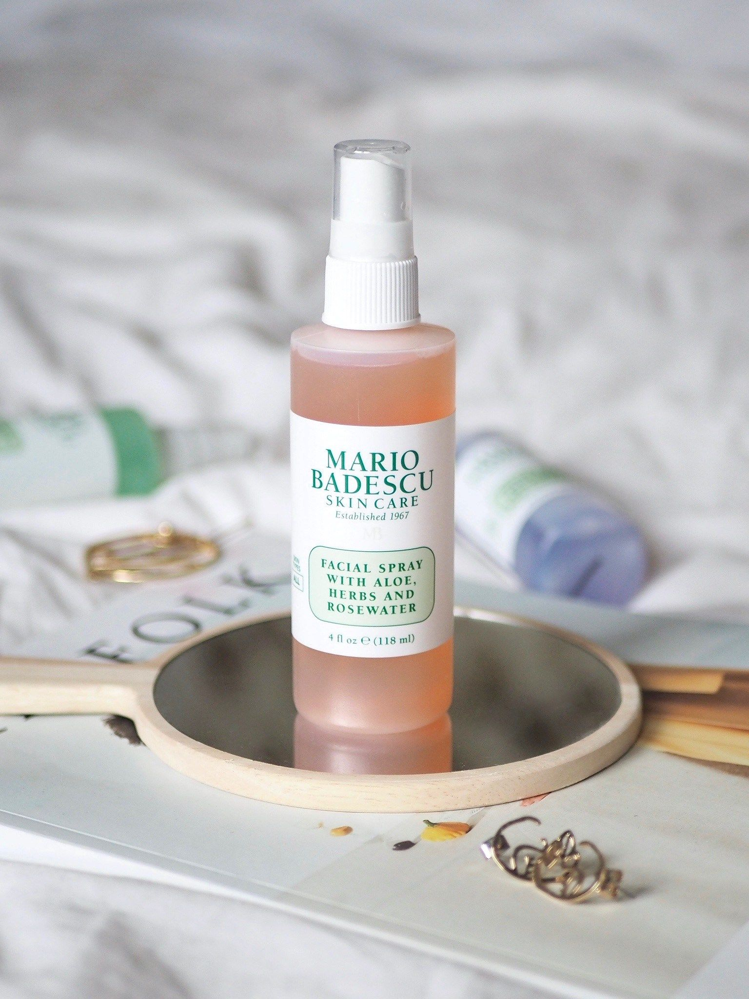 Mario Badescu Facial Spray Skin Care Natural Hair Mask